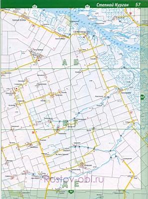 Карта целинского района ростовской