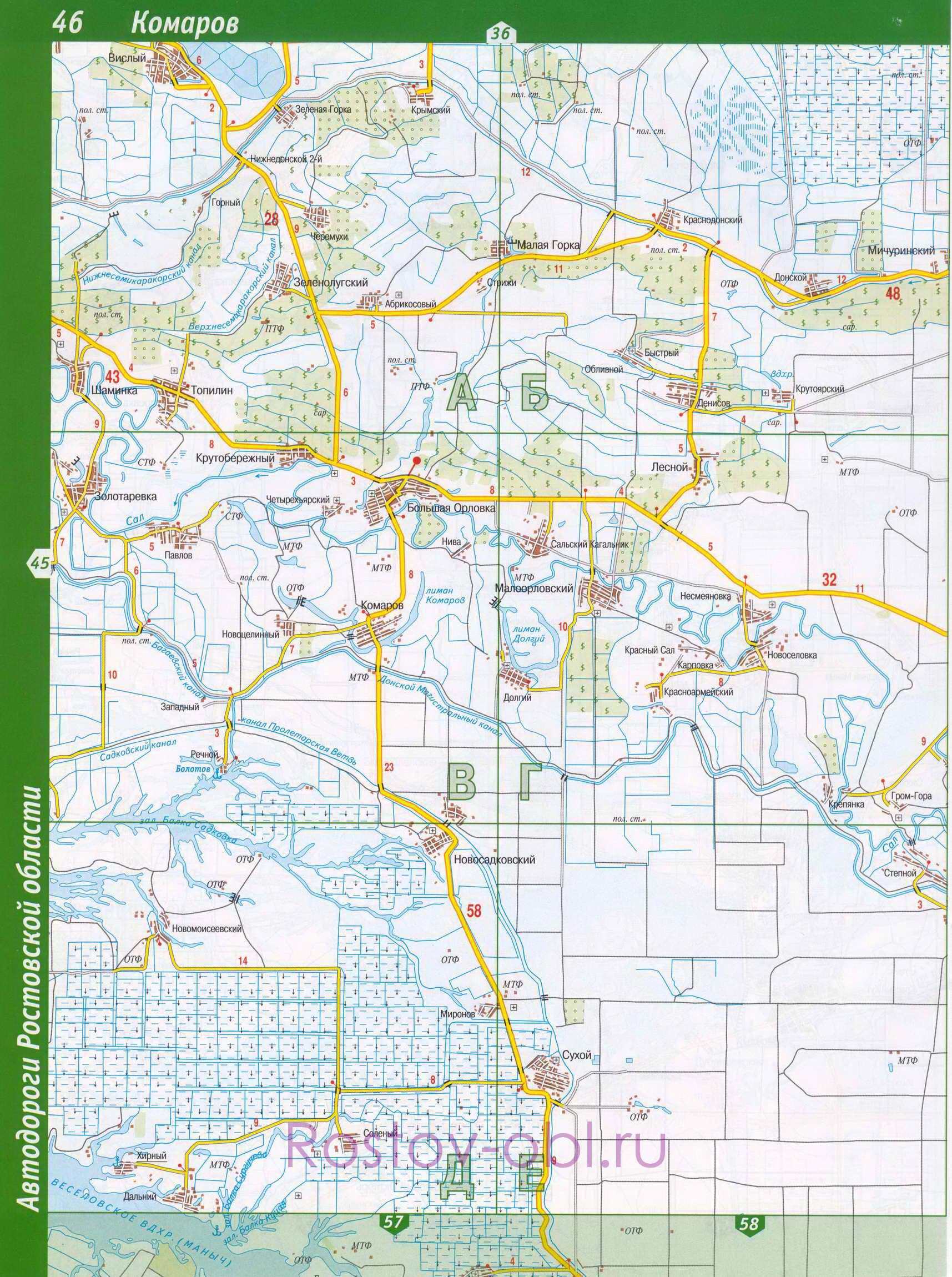 Карта Заветинского Района Ростовской Области Подробная С Селами