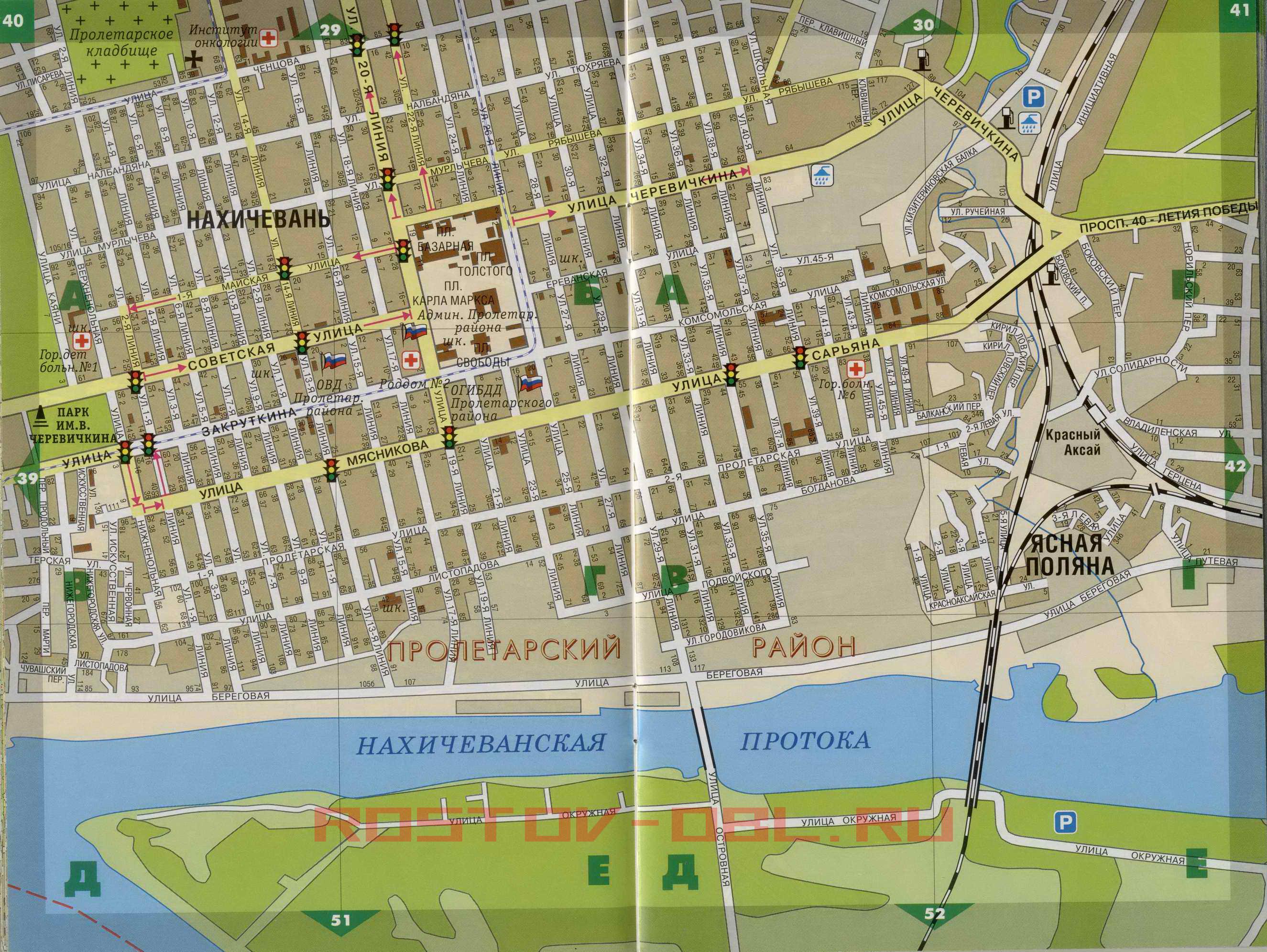 Карта Города Рубцовска Скачать
